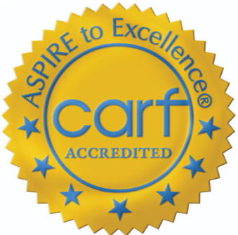 CARF Accredited Seal
