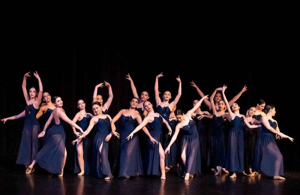 DanzArts Toronto dancers performing during a dance recital.